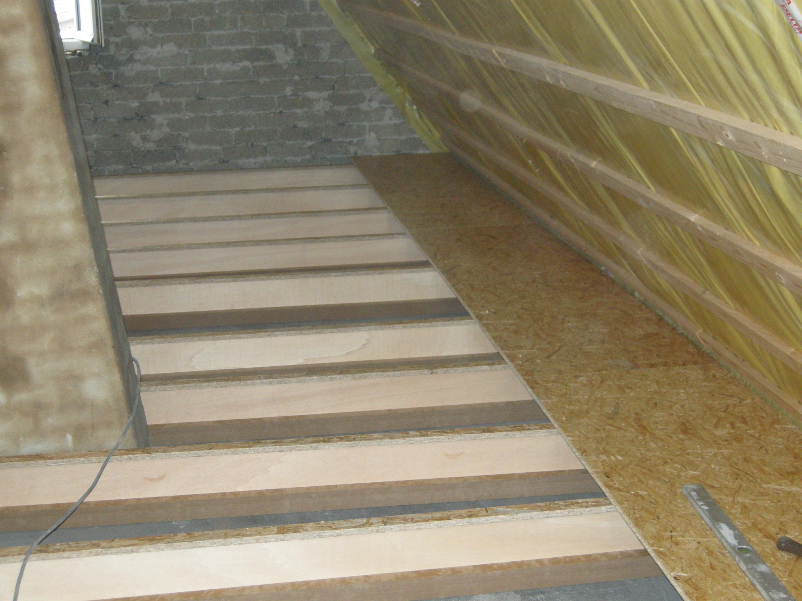 begehbare dachbodendämmung, hölderlinstraße in gelsenkirchen » kasatech